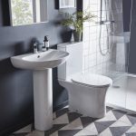 ESP Rimless Close Coupled Toilet & Soft Close Seat lifestyle