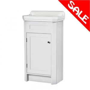 Harriet 500mm Traditional Cloakroom Unit & Basin