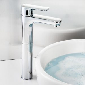 Lion Tall Basin Mono Tap In Chrome