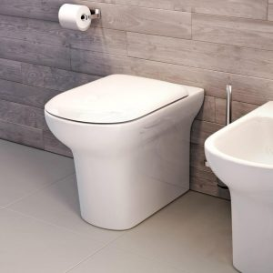 Look Back To Wall Toilet & Soft Close Seat