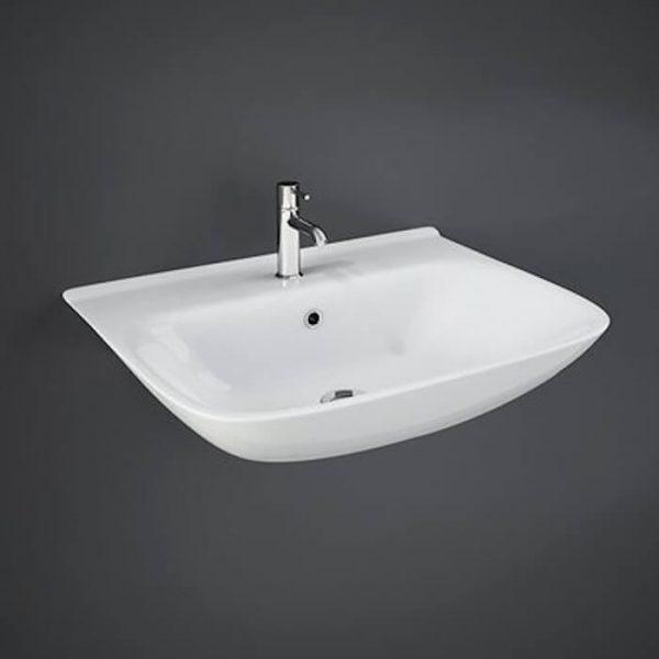 Orlando Cloakroom Basin 1 Tap Hole 450mm