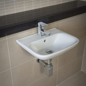 Orlando Cloakroom Basin 1 Tap Hole 450mm