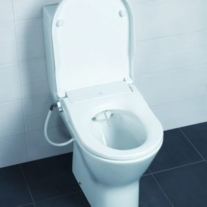 Toone / Resort Maxi Manual Bidet Wash Douche Soft Close Seat
