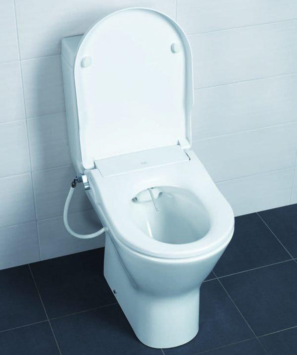Toone / Resort Maxi Manual Bidet Wash Douche Soft Close Seat