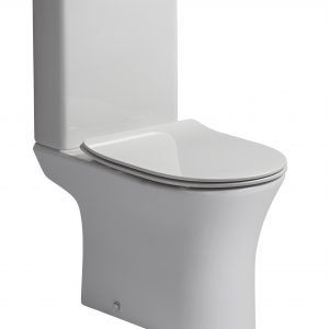 ESP Rimless Close Coupled Toilet & Soft Close Seat