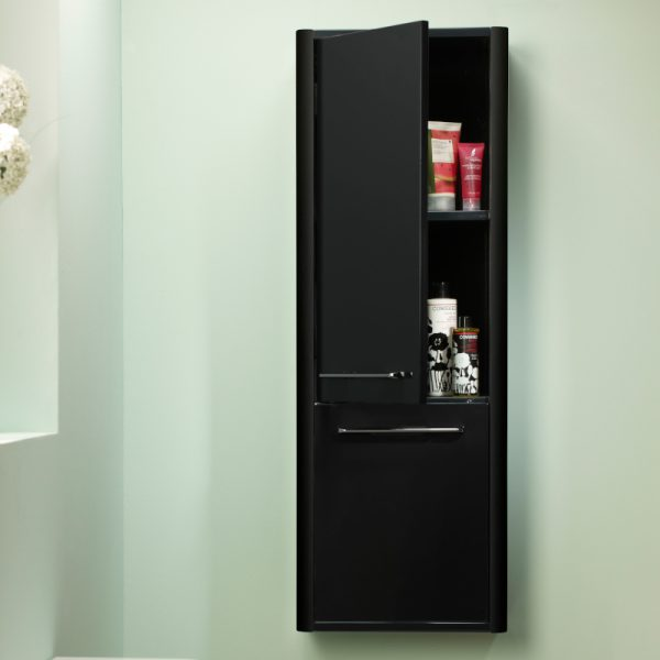 Sol 350mm Wall Mounted Storage Column In Three Colours