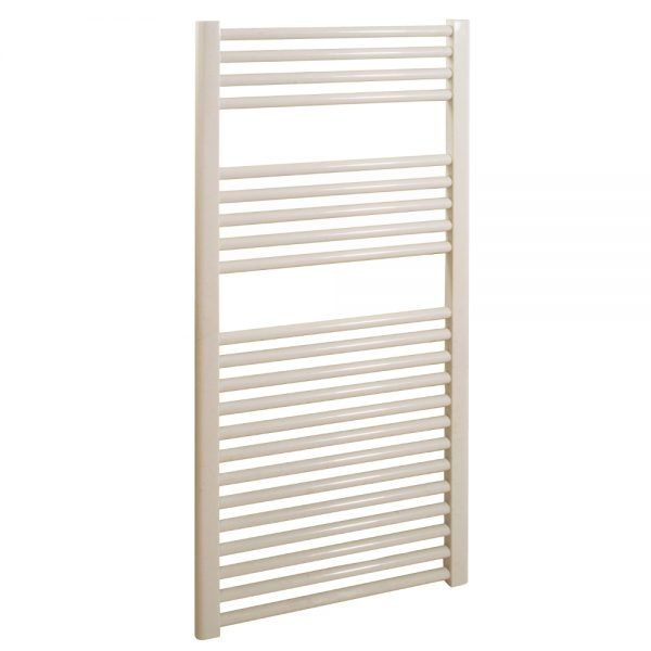Deluxe Towel Rail 25mm Straight 600x1200mm In Nine Colours