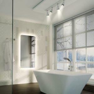 HIB Ambience LED Illuminated Mirror 400, 500, 600, 900 & 1200mm