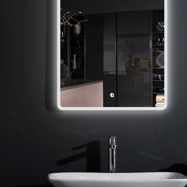 Chilwell Perimeter Illuminated LED Mirror In 500x700mm