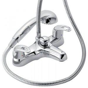 Delia Bath Shower Mixer Tap In Chrome