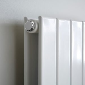 ESP Horizontal Double Panel Ultra Modern Radiator in White Gloss