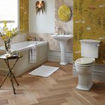 Heritage Blenheim Comfort Close Coupled Toilet with Ceramic Lever