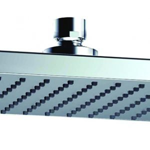 Designer ABS Square Shower Head 200x150mm In Chrome