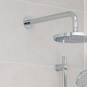 Simply Round Straight Shower Arm In Chrome