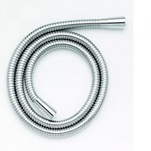 Standard Stainless Steel Shower Hose 1.5m Large Bore In Chrome