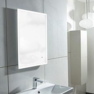 Supreme Perimeter LED Illuminated Mirror In 500x700mm