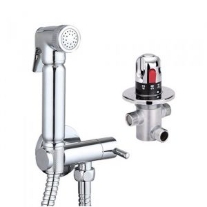 Thermostatic Maxi Panel Douche Spray & Kit