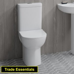 Waterloo Trade Comfort Toilet Close Coupled & Soft Closing Seat