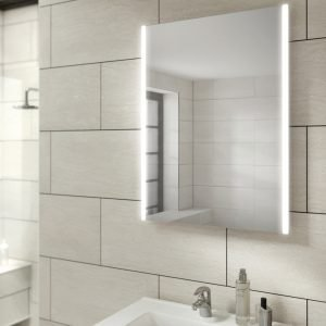 HIB Zircon LED Illuminated Mirror 500, 600 & 800mm