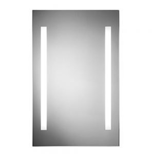 Backlit Strip LED Illuminated Mirror In 450x700mm