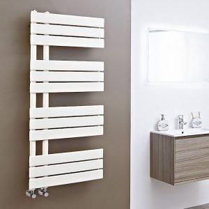 Scarlett Latte Designer Straight Towel Rail 500×800 & 500x1200mm