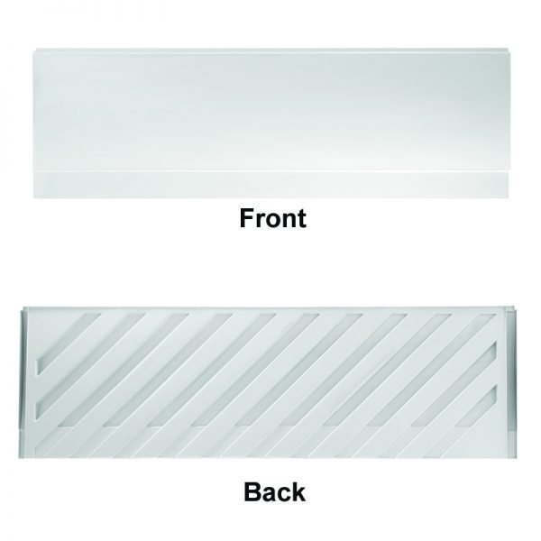 Supa Reinforced Front Bath Panel 1700 In Gloss White