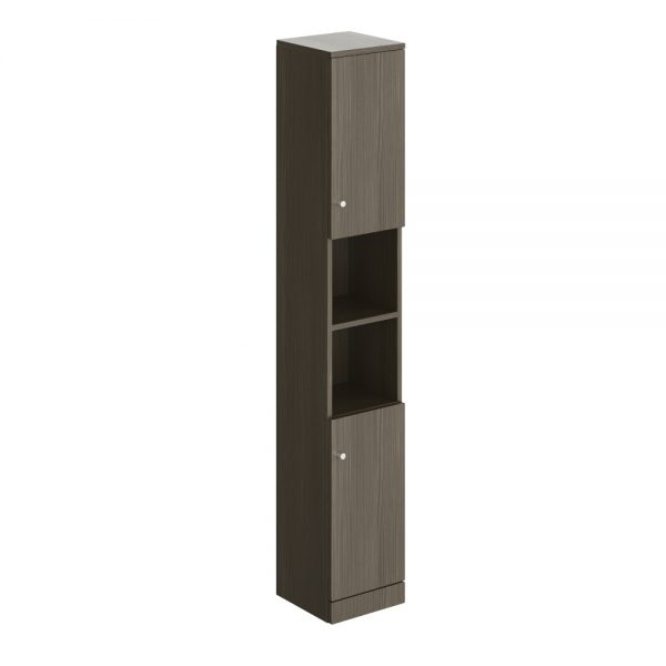 Akomi Floor Standing Tower Tall Storage Unit In Three Colours