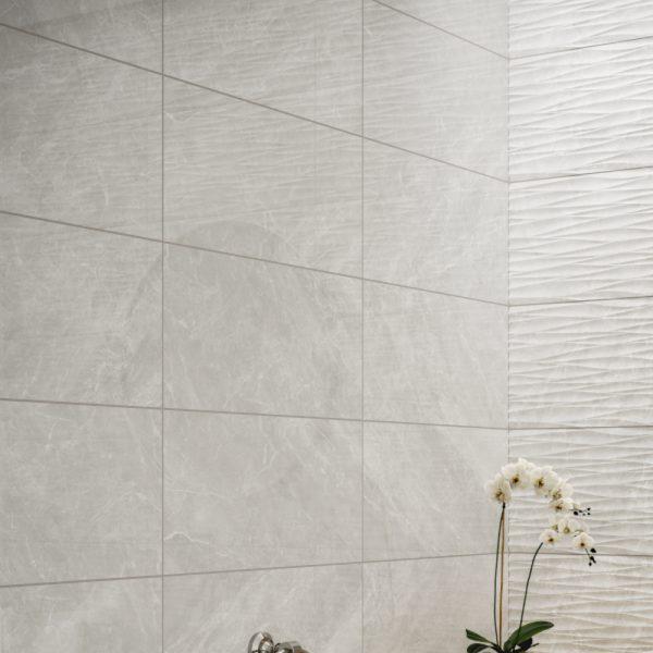Antigua Grey Wall Bathroom Tiles 250 x 500mm Per Box