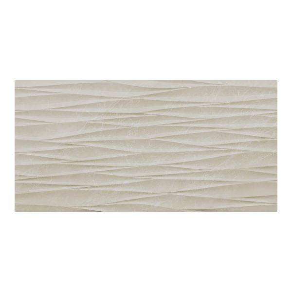 Antigua Ivory Decor Wall Bathroom Tiles 250 x 500mm Per Box