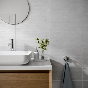 Barbados Grey Wall Bathroom Tiles 250 x 500mm Per Box