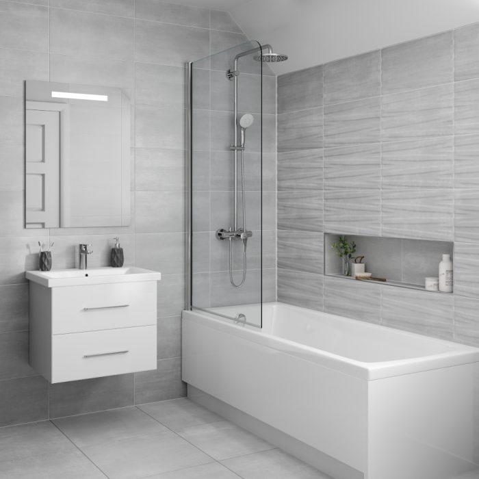 grenada grey wall  floor bathroom tiles 500 x 500mm per box