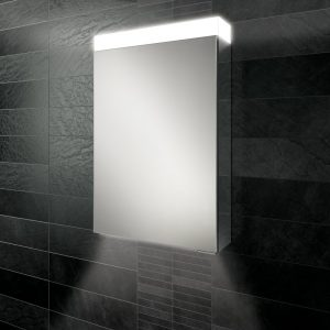 HIB Apex Ambient LED Illuminated Mirror Cabinet 500 x 750mm