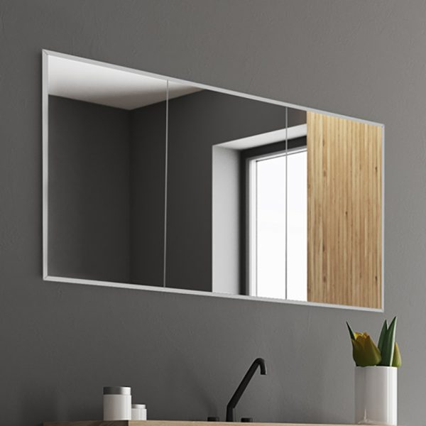 HIB Essence Recessed Treble Mirror Cabinet 1230 x 730mm