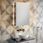 HIB Ether LED Illuminated Mirror Cabinet 500 x 700mm