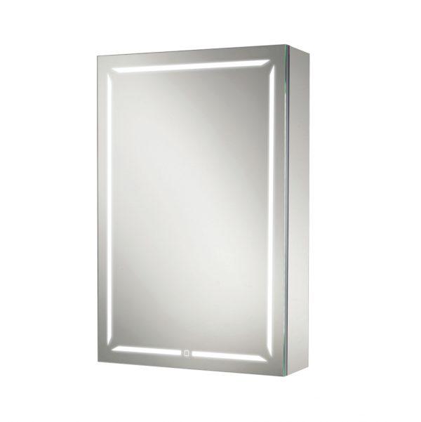 HIB Groove Bluetooth LED Illuminated Mirror Cabinet 500 x 700mm