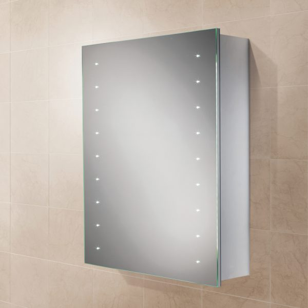 HIB Nimbus LED Illuminated Mirror Cabinet 500 x 700mm