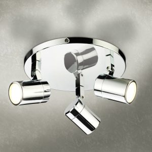 HIB Trilogy Directional LED Spot Lights In Chrome