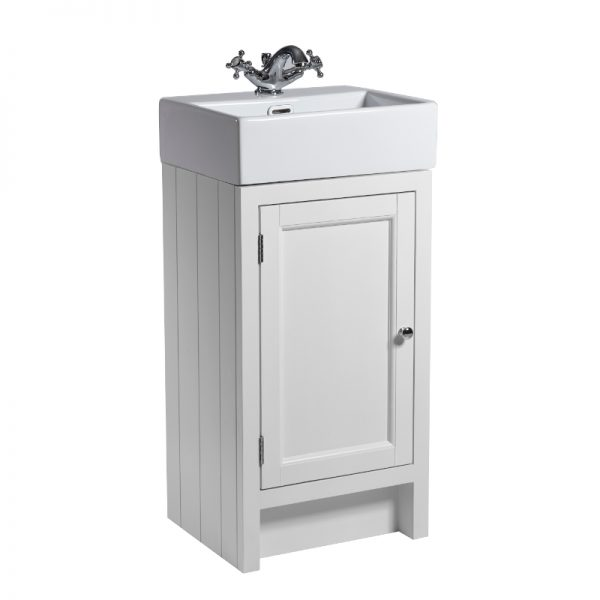 Hampton 450mm Floor Standing Door Unit & Basin In Five Colours