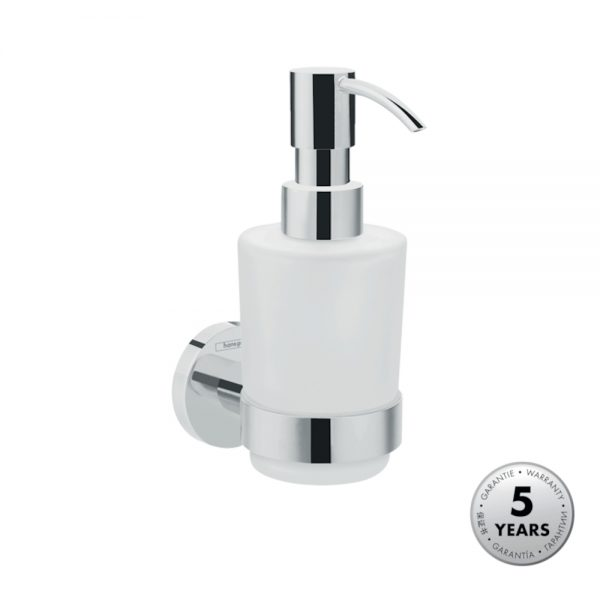 Hansgrohe Wall mounted Liquid Soap Dispenser in Chrome