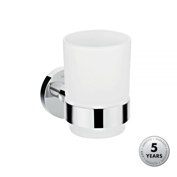 Hansgrohe Tumbler & Holder in Chrome