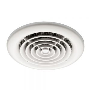 HiB Turbo Inline Ceiling Fan In White