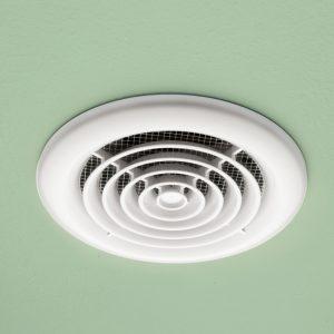 HiB Turbo Inline Ceiling Fan In White