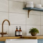 Jamaica White Wall Bathroom Tiles 250 x 500mm Per Box Lifestyle1