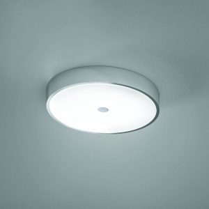 HiB Lumen Central Bathroom Ceiling Light In Chrome