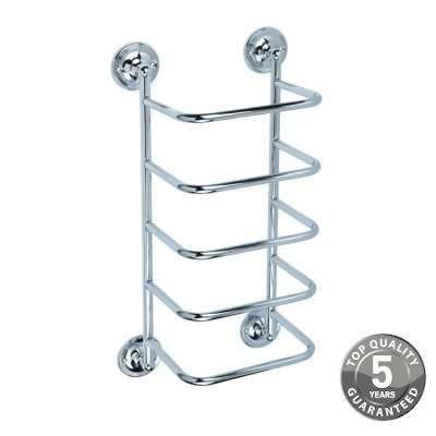 Simply Traditional Towel Storage Stacker In Chrome