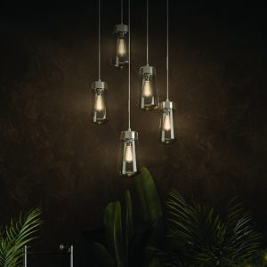 HiB Summit Pendant Ceiling Light In Chrome
