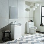 Tanya 500mm Ensuite Vanity unit & Basin In Four Colours