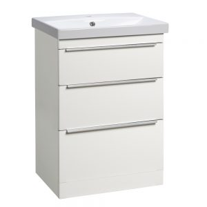 Tanya 600mm Floor Standing Draw Unit & Basin In Four Colours