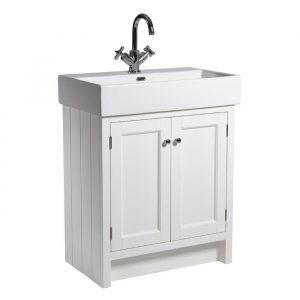 Hampton 700mm Floor Standing Vanity Unit & Basin In Five Colours