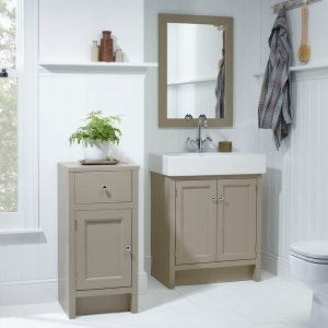 Hampton 700mm Floor Standing Vanity Unit & Basin In Five Colours